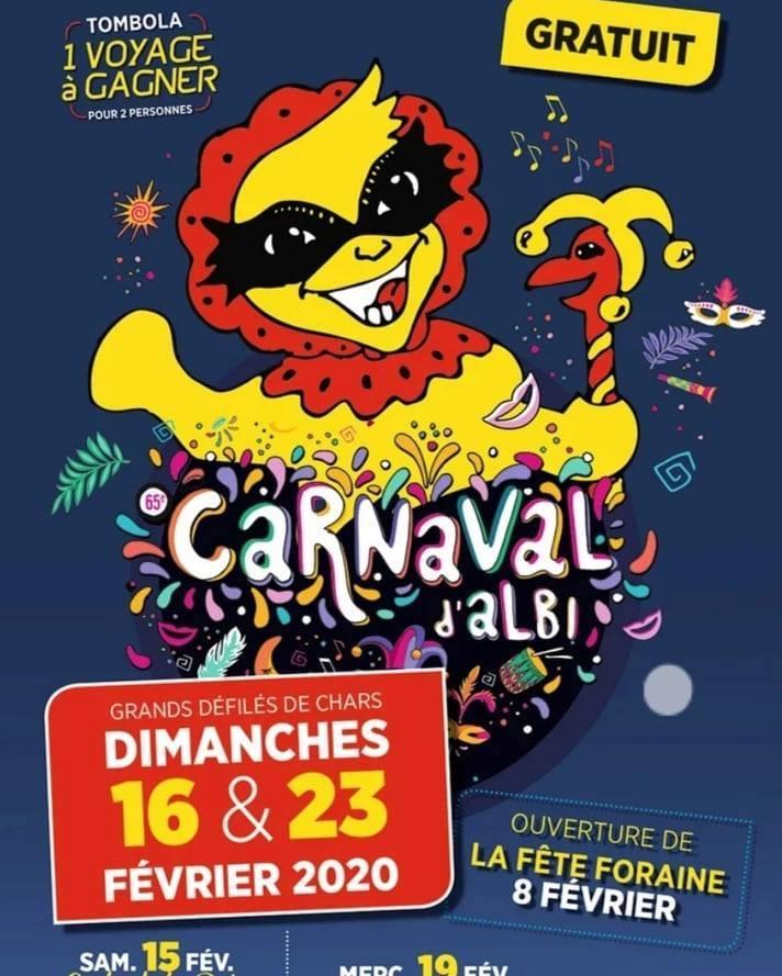 Affiche carnaval