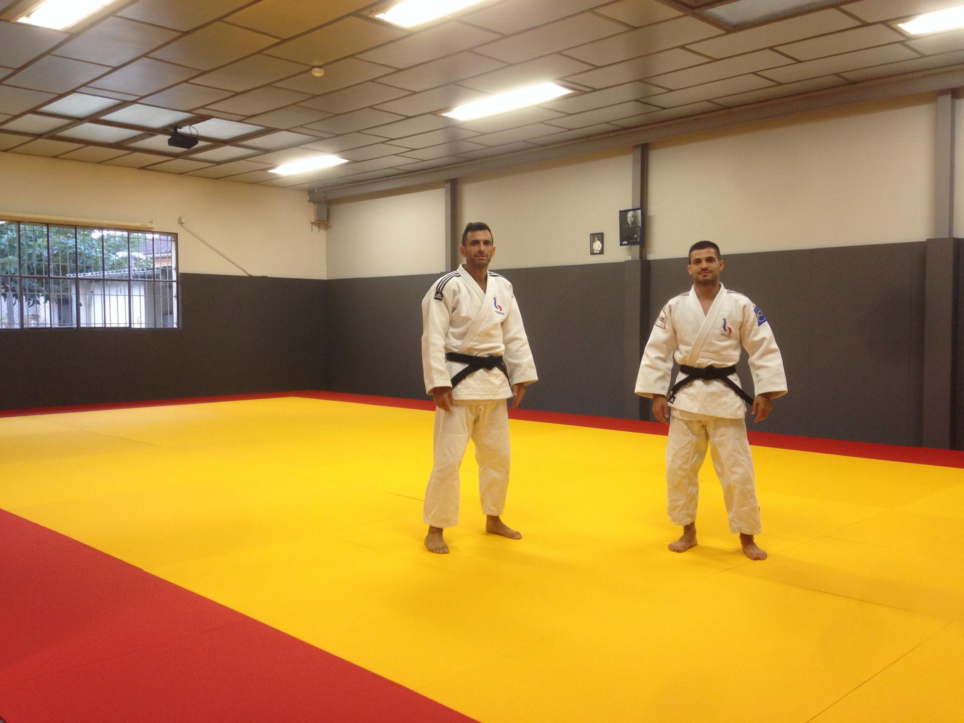 Stéphane Bega (à gauche) et Grégory Marques (à droite)